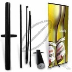 Aluminum Alloy Roll Up Screen Banner Stand