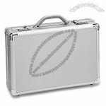 Aluminum Attache Case with Large Compartment
