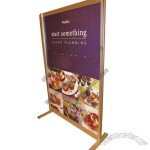 Aluminum Banner Display Rack