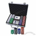 Aluminum Case 200-piece Deluxe Poker Chips Set