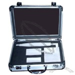 Aluminum Case With Gun Cleaning Tools and Brush