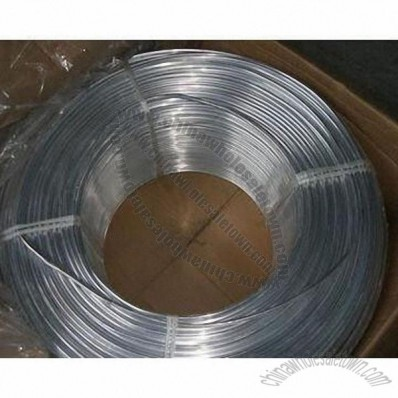 Aluminum Coil Tube for Refrigerator, 0.5 to 2.5mm Wall Thickness, 4 to 20mm Outer Diameter