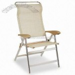 Aluminum Director Chair with Side Table and Bag