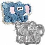 Aluminum Dumbo Elephant Cake Mould