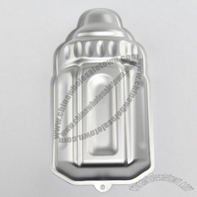 Aluminum Feeding Bottle Shaped Cake Mould