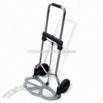 Aluminum Hand Trolley with Rubber Wheel