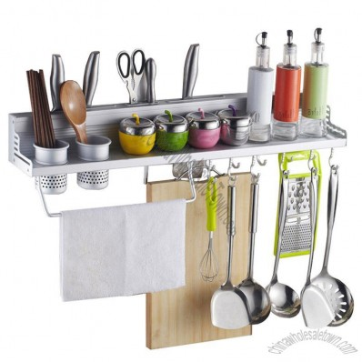 Aluminum Kitchen Shelves - Kitchenware Holder
