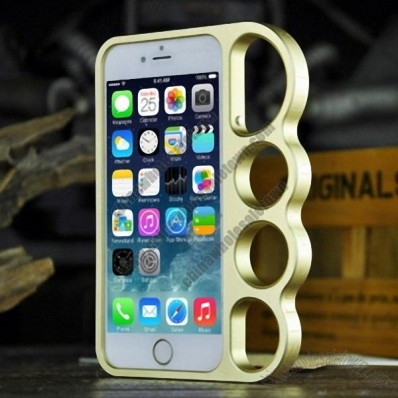 Aluminum Metal Knuckle Ring Bumper Case Frame Protector For iPhone 6 4.7inch