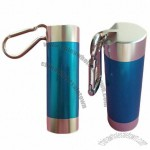 Aluminum Pill Holder Box with Carabiner