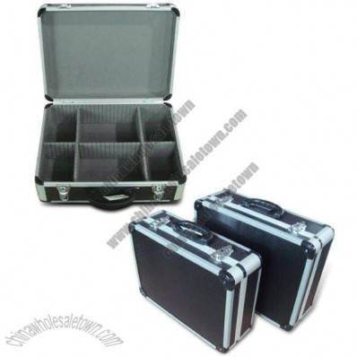 Aluminum Tool Case with Black Diamond Pattern Aluminum Sheet Surface