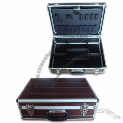 Aluminum Tool Case with Colorful Fire-resistant Board Surface