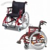 Aluminum Wheelchair, Adjustable Cross Brace and Armrests