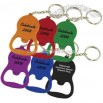 Aluminum metal calabash shape bottle opener key chain