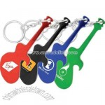 Aluminum metal key chain bottle opener