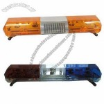 Amber Vehicle Strobe Emergency Lightbar/Construction Truck Warning Lights/Halogen Lightbar