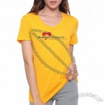 American Apparel Ladies 50/50 Blend T-Shirt