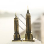 American Empire State Building Model