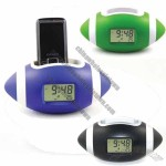 American Football LCD Clock with Phone Holder