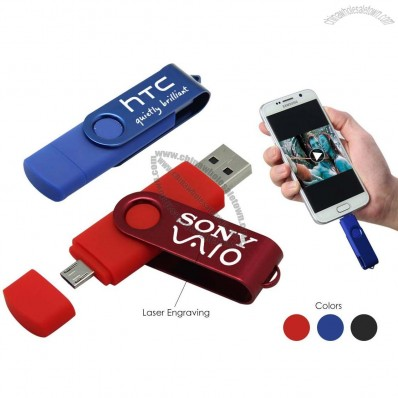 Android Smart Phone Charge Adapter USB Flash Drive