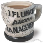 Anger Management Funny Ceramic Mug