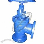 Angle Globe Valve with 400degrees Maximum Working Temperature
