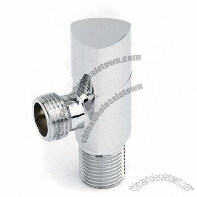 Angle Valve with Polished or Chromed Surface