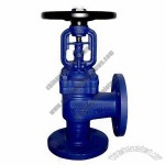 Angle Water Stop Valve With PN10/PN16 Nominal Pressure