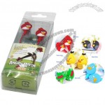 Angry Birds Headphone - In-Ear Headset Earphone