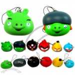 Angry Birds Stress Ball Keychain