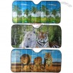 Animal Design Full Colours Digital Print Car Sun Shade
