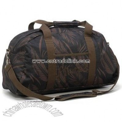 Animal Overnight Weekend Bag - Bribie Raven Leaf