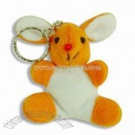 Animal Plush Keychain