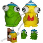 Animal Poppin Peepers Keychain