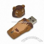 Animal-shaped Plastic USB Flash Drive