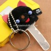Animale Adorable Plush Key Cover Ring (Cat)