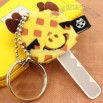 Animale Adorable Plush Key Cover Ring (Giraffe)