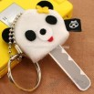 Animale Adorable Plush Key Cover Ring (Panda)