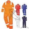 Anti-Static Coverall (Orange, Navy, Red, Royal or White)
