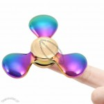 Anti Stress Rainbow Triangle Hand Fidget Spinner