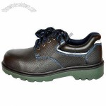 Anti-static Leather Sport Shoes, High Quality Making, Hiking or Running Usage