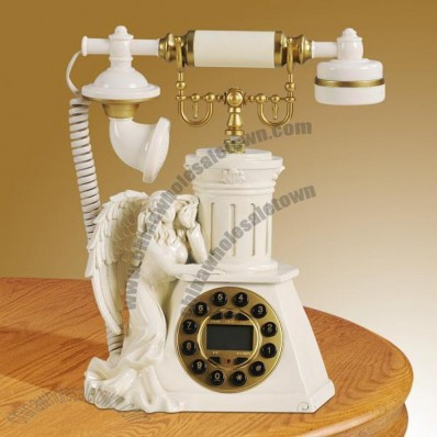 Antique Angell Domestic Desktop Corded Telephone