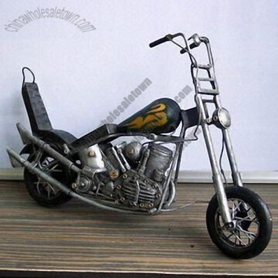 Antique Metal Motorcycle