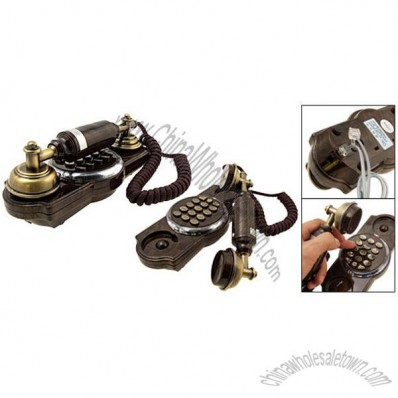 Antique Style Collectible Corded Telephone