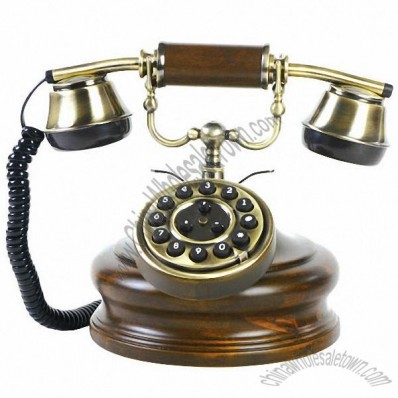 Antique Telephone with Fashion Style
