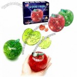 Apple 3D Crystal Puzzle with light