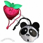 Apple/Panda Shape Folding Bag