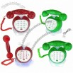 Apple Shape Diamond Rhinestone Novelty Cord Phone Telephone