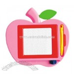 Apple Shape Magnet Board With Pen