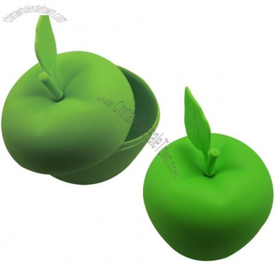 Apple Shape Silicone Bowl with Lid