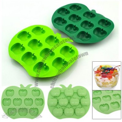 Apple Shaped Ice Cube Tray Chocolate Mould